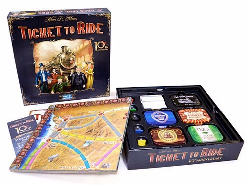 Board Game 187 Euro Games 187 Ticket To Ride Anniversary