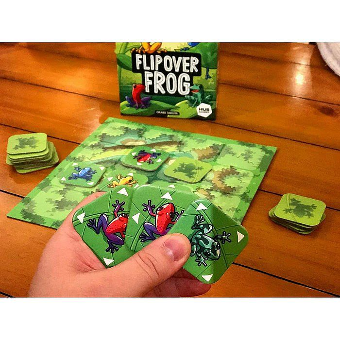 Flip Over Frog ( Original ) Board Game - Mainan Edukasi